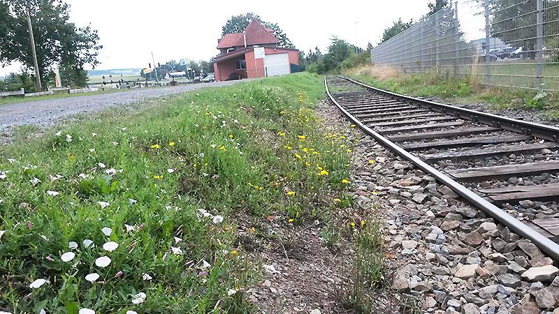 Weg aus der Station
