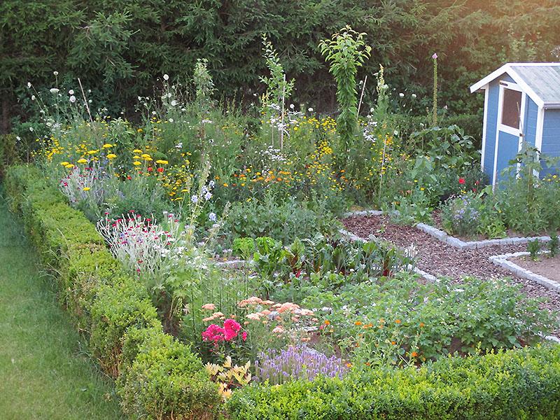 Privater Garten zum nachmachen!